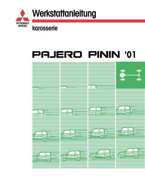 Pajero Io Workshop Manual Pdf