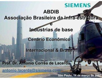 ABDIB Associação Brasileira da Infra-estrutura e Indústrias ... - Cogen