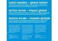 PDF: azione locale - impatto globale - SVGW