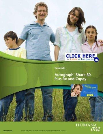 HumanaOne Authograph plan brochure - Health Insurance