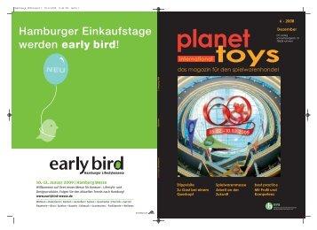 Hamburger Einkaufstage werden early bird! - mf verlag