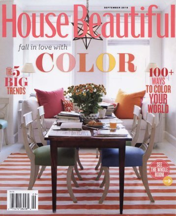 House Beautiful September 2010