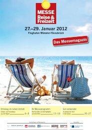 Das Messemagazin - Messe Reise und Freizeit