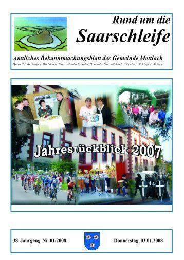 Rund um die Saarschleife - Gemeinde Mettlach