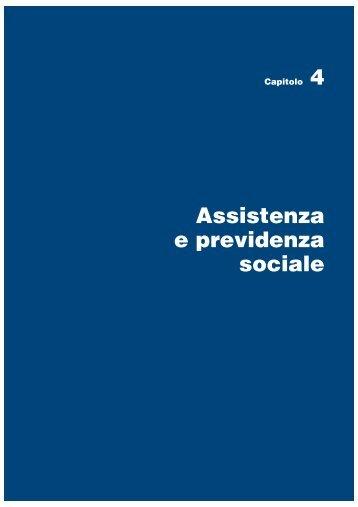 Assistenza e previdenza sociale - Istat.it