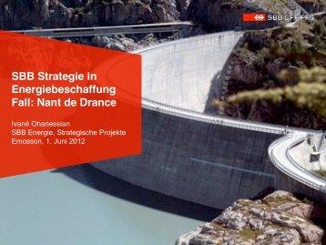 SBB Strategie in Energiebeschaffung, Fall Nant de Drance - bahn ...