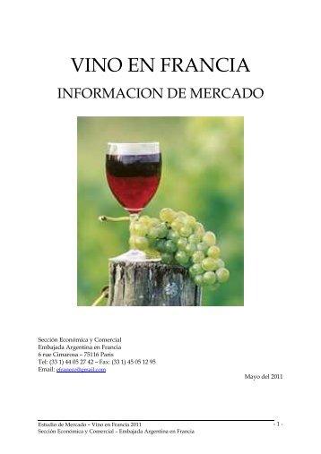 Estudio de mercado - Vino en Francia 2011 - Wines Of Argentina