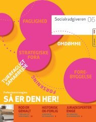 Socialrådgiveren nr. 6-2008 - Dansk Socialrådgiverforening
