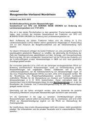 Dichtheitspruefung privater Abwasserleitungen - Baugewerbliche ...