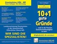 Folder - GÖD-NÖ Pensionisten