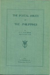 OF 1912 - International Philippine Philatelic Society