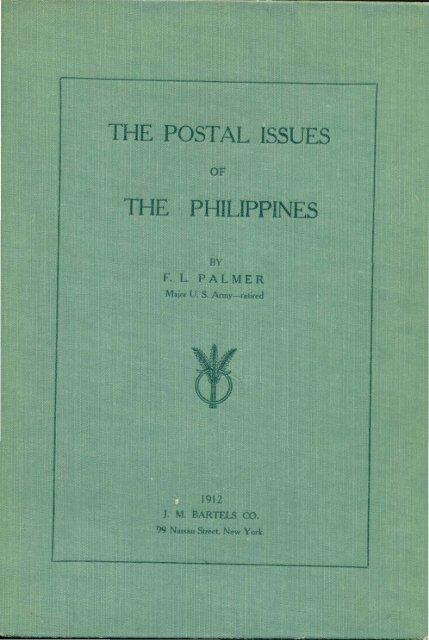 OF 1912 - International Philippine Philatelic Society