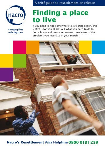 Download Finding a place to live - Nacro