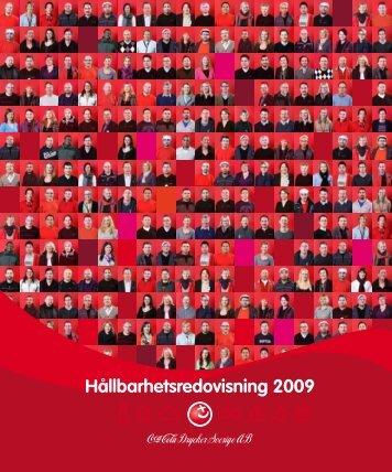 HÃ¥llbarhetsredovisning 2009 - Coca-Cola