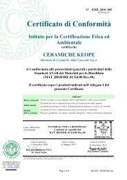 187.3 Kb - Ceramiche KEOPE