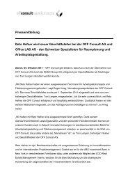 Pressemitteilung Reto Hafner wird neuer Geschäftsleiter bei der ...