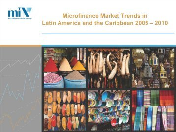 Microfinance Market Tendencies for Latin America and the
