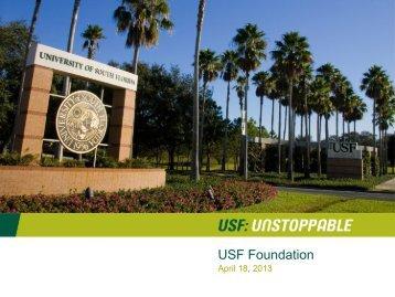 USF Foundation - University of South Florida System