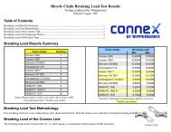 Bicycle Chain Breaking Load Test Results Testing ... - Cantitoe Road