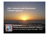 Enterprise wide Phenomenon A Holistic Approach - gogoNET LIVE!