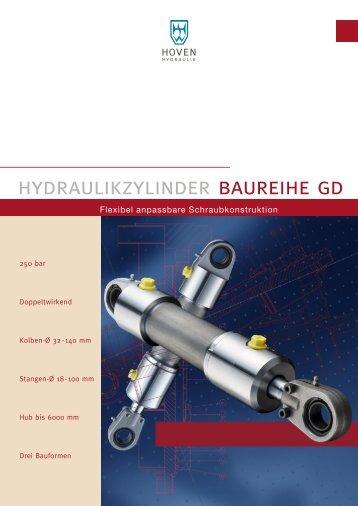 Hydraulikzylinder Baureihe GD - Wilhelm Hoven Maschinenfabrik ...