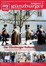 Der Günzburger Kultursommer - MH Bayern