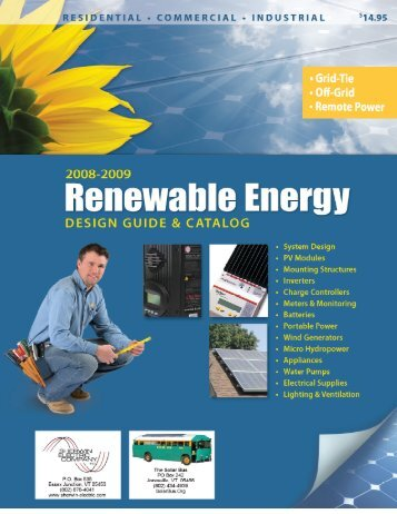 Click here to download our solar energy catalog - The Solar Bus