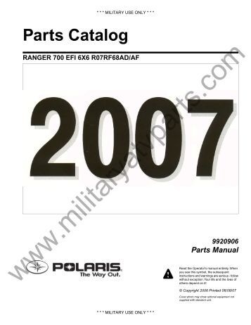 Polaris Atv Parts Manual Pdf