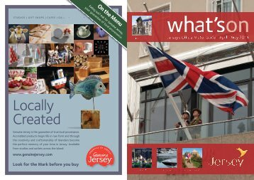 Jersey What's On Visitor Guide April - May 2011