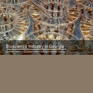 Bioscience Industry in Georgia - Select Georgia
