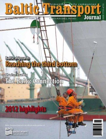 PDF preview of BTJ 1/2013 - Baltic Press