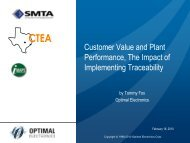 PowerPoint Presentation - Executive Presentation - SMTA