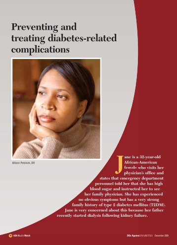 Preventing and treating diabetes-related complications - CECity