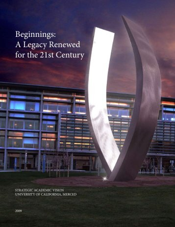 Beginnings: A Legacy Renewed for the 21st Century - Academic ...