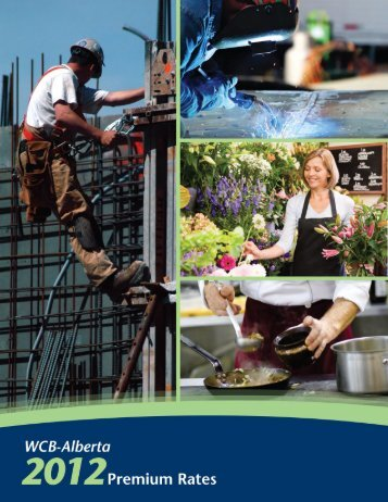 2012 Premium Rate Guide - Workers' Compensation Board