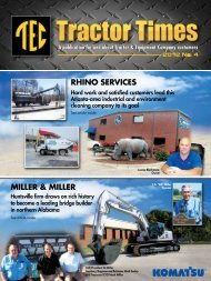 RHINO SERVICES MILLER & MILLER - TEC Tractor Times