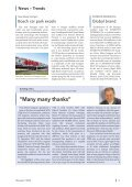 Message issue 1/2008 (PDF   5,3 MB - Messe Stuttgart - Page 6