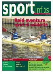 Raid aventure - Union Nationale Sportive Léo Lagrange