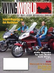 to view pdf file of current issue - Wing World Magazine Archives