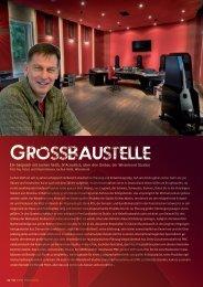 Ein Gespräch mit Jochen Veith, JV-Acoustics, über ... - Studio Magazin