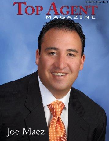 Joe Maez - Top Agent Magazine