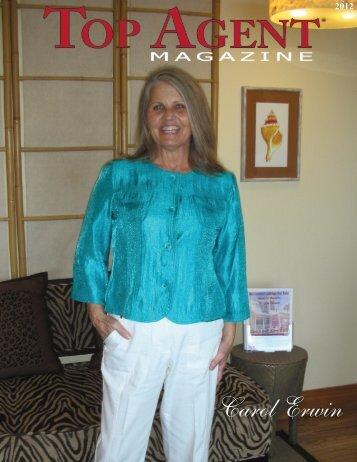 Carol Erwin - Top Agent Magazine