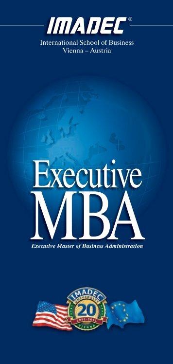 International School of Business Vienna – Austria - IMADEC University