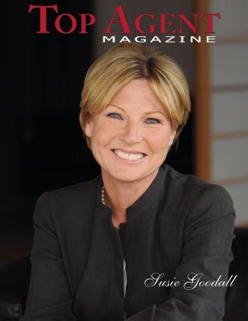 Susie Goodall - Top Agent Magazine