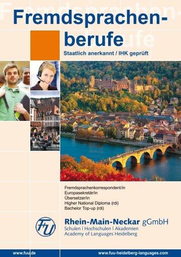 Fremdsprachen- berufe - F+U Language School