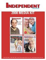 2008 Media Kit - Independent Times