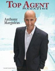 Top Agent Magazine Anthony Marguleas - Amalfi Estates