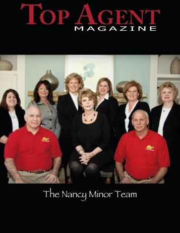 The Nancy Minor Team - Top Agent Magazine
