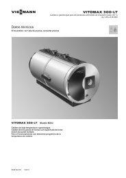 Datos técnicos Vitomax 300-LT M343393 KB - Viessmann