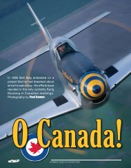 to view Warbird Digest's Article on this ... - Courtesy Aircraft